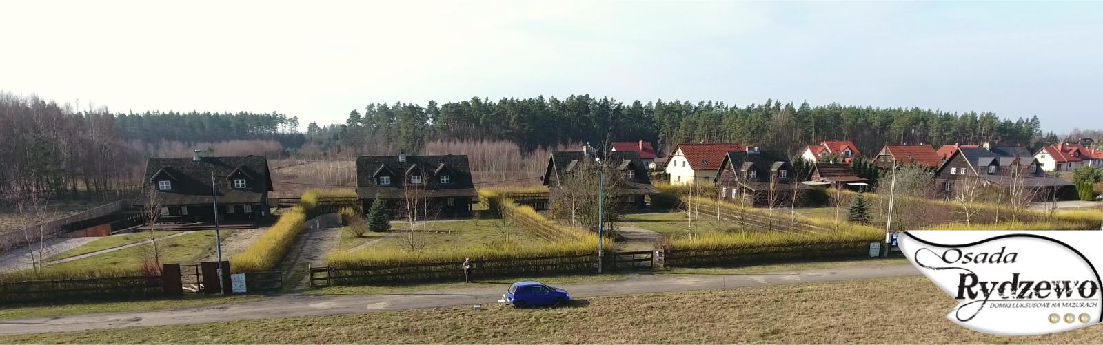 Osada Rydzewo na wprost